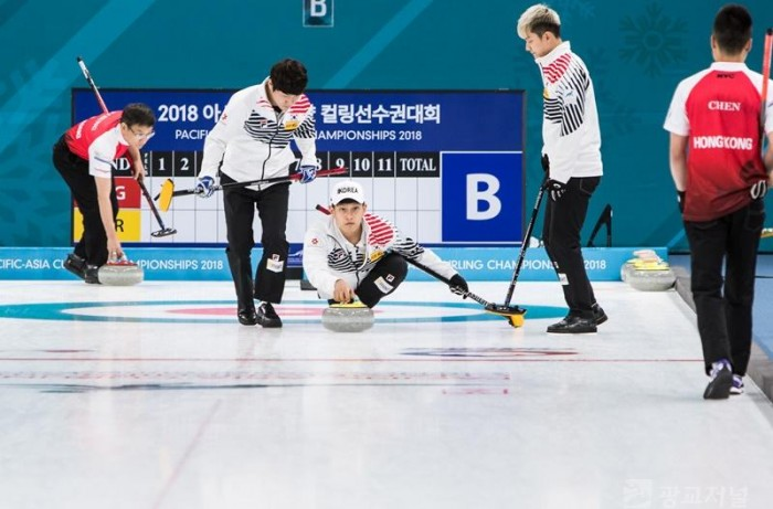 아시아·태평양 컬링 선수권 대회, 4강을 향해 경기 진행 중 (3.jpg