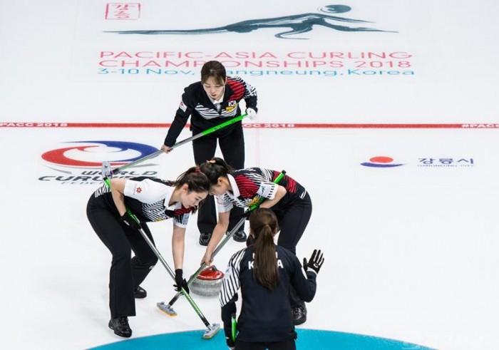 아시아·태평양 컬링 선수권 대회, 4강을 향해 경기 진행 중.jpg