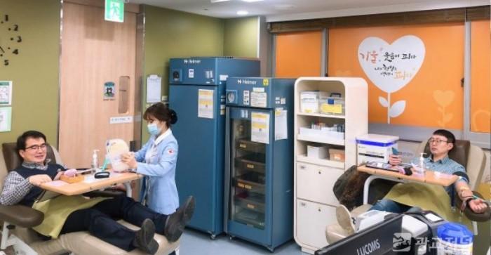 (사진) 처인구 직원들 헌혈.JPG
