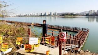 201224 진용복 부의장, 기흥호수 둘레길 개선사업 예산 13억원 확보.jpg