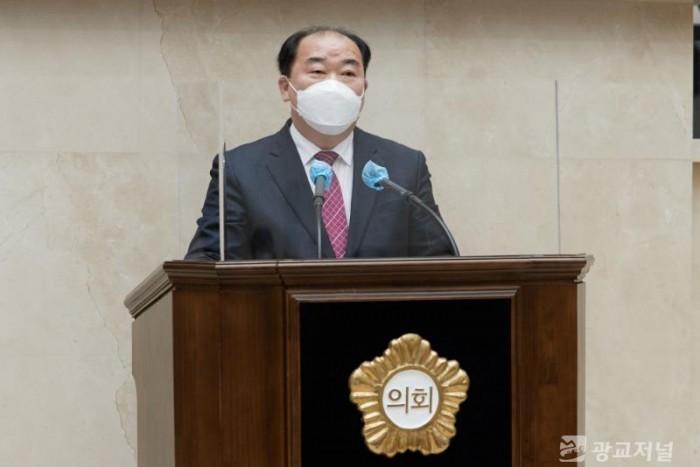 20210204 용인시의회 김운봉 의원, 5분 자유발언.jpg