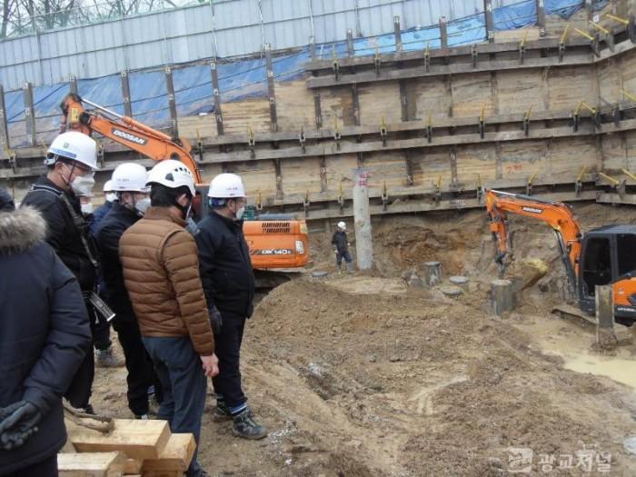 (사진) 대형 공사장 안전점검 모습.JPG
