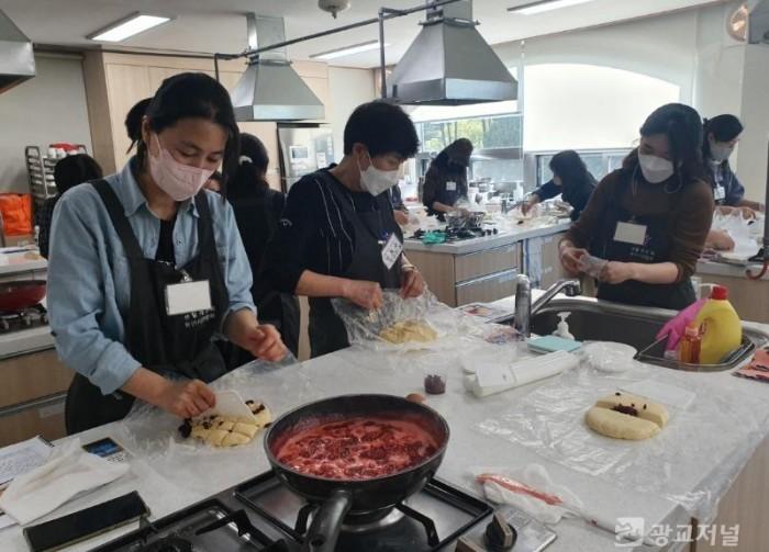 210422_백옥쌀 소비 늘리기 위해 디저트 등 쌀 활용 교육_사진(2) 쌀디저트교육.jpg