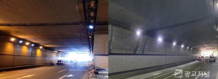 LED등 교체 전과 후(사진 왼쪽부터).jpg