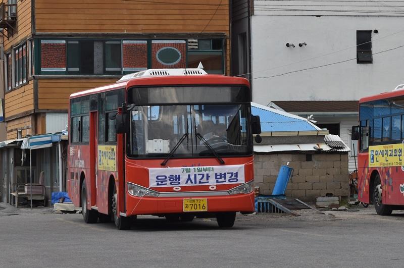 평창군, 농어촌 버스 운행체계 내달 전면 개편 시행키로