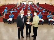 김한근,대통령배 고교야구 우승기 봉납식 참석