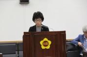 황진희 도의원, 대안교육 위탁교육기관 관리 강화