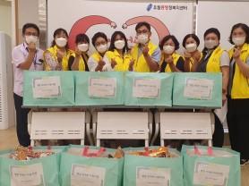 처인구 유림동, 지역사회보장협의체서 사랑의 영양꾸러미 전달