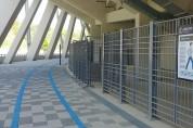 백군기,용인미르스타디움 주경기장에 800m 산책로 조성