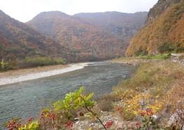 [포토뉴스] 연촌강(淵村江)의 가을 아침
