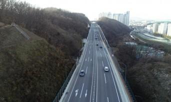 [포토뉴스] 용인시, 국도 42호선 대체우회도로 차량통행 개시
