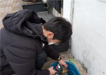 김한근, 북극한파에 따른 상수도 동결피해 복구완료