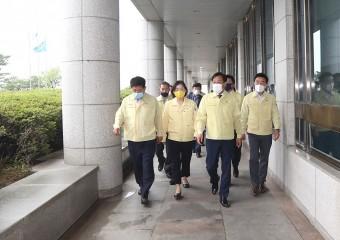 장현국,'31개 시·군 호우경보' 선제조치···추가피해 최소화 해야
